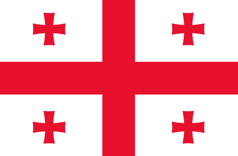 800px Flag of Georgia bordered